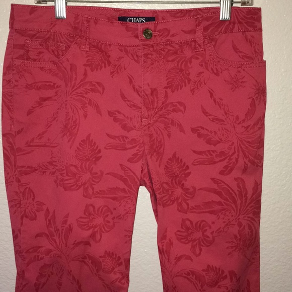Chaps  Slimming Fit Capris Cropped Pants Madden Capri Woman Super Stretch